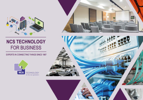 Discover more about the services and products NCS Technology supply and install in our latest Business brochure
